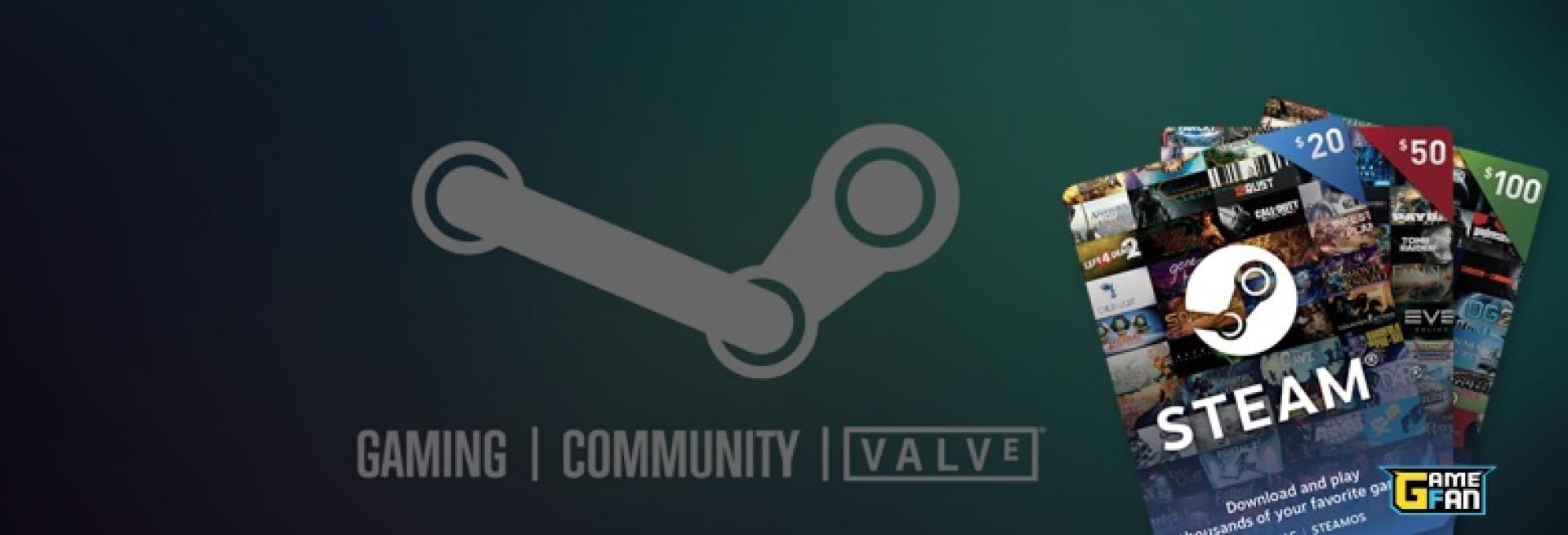 Compra aqui tus tarjetas de Steam